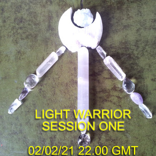 Light Warrior Session One! Join me over on Youtube to send Love and Light into the Collective!