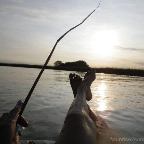 Relaxing on the Norfolk Broads