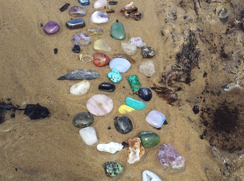 crystals in spring sunrise2sunset holistic therapy