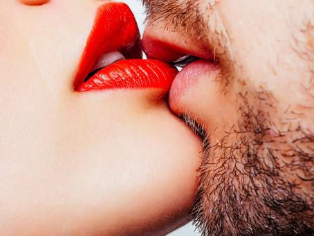 Küssen kann man nicht alleine...