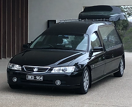 Mornington Peninsula Funerals Hearse at Bunurong