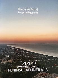 Mornington Peninsula Funerals Pre-planning book