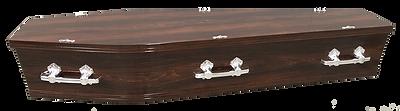 Flinders Walnut coffin Mornington Peninsula Funerals