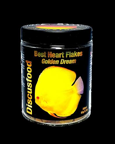 Golden Dream Heart Flakes: 65 grams