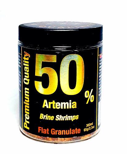 Brine Shrimp Flakes: Flat Granulate