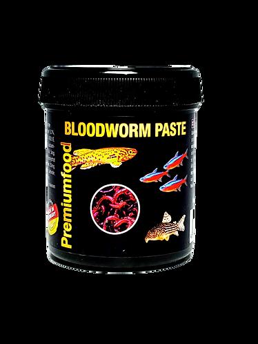 Blood Worm Paste Food: 125 grams