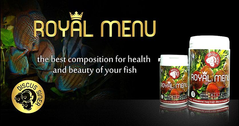 Royal Menu Product Banner