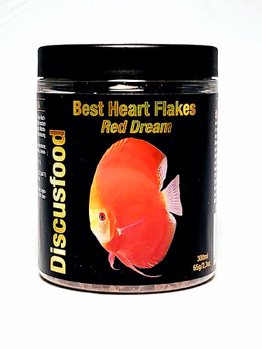 Red Dream Heart Flakes: 65 grams