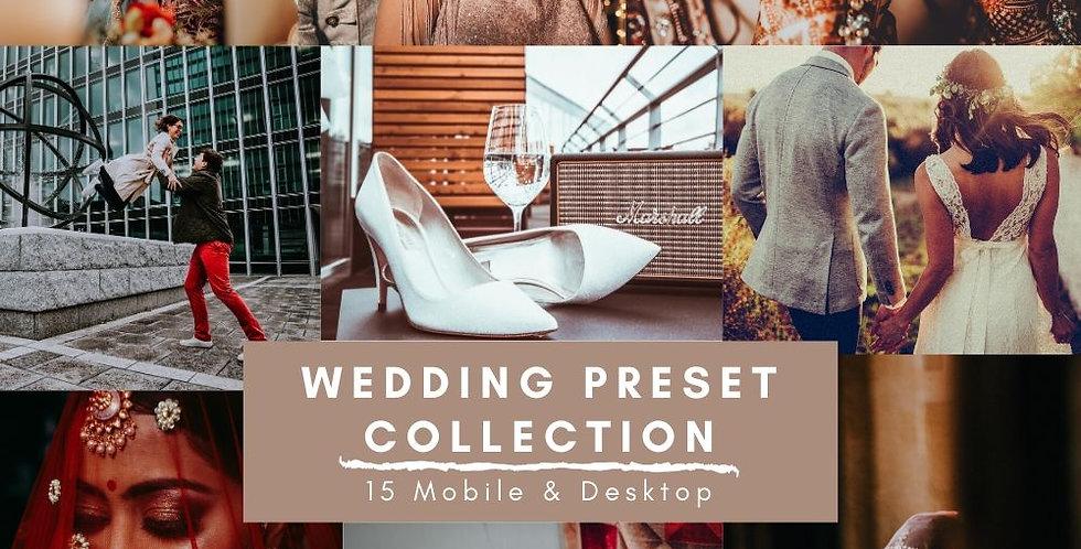 Wedding Preset Collection - Vol-1