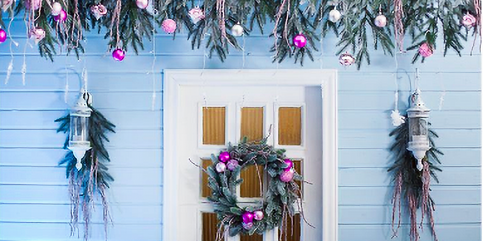 Holiday Window Decorating Party