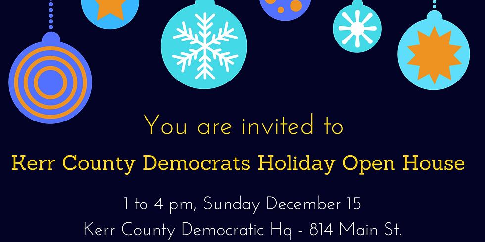 Kerr County Democrats Holiday Open House