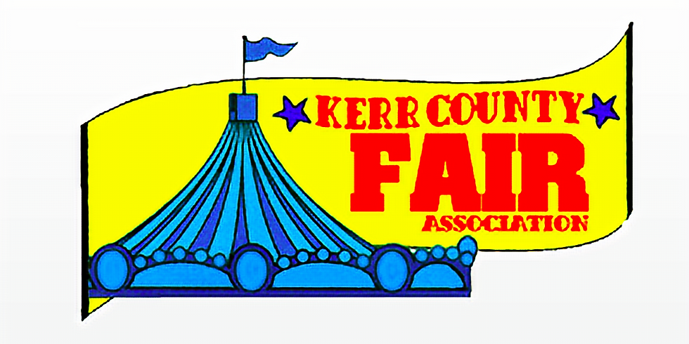 Kerr County Fair - We Have a Booth!