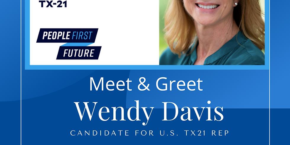 Wendy Davis Meet & Greet in Kerrville - October 18