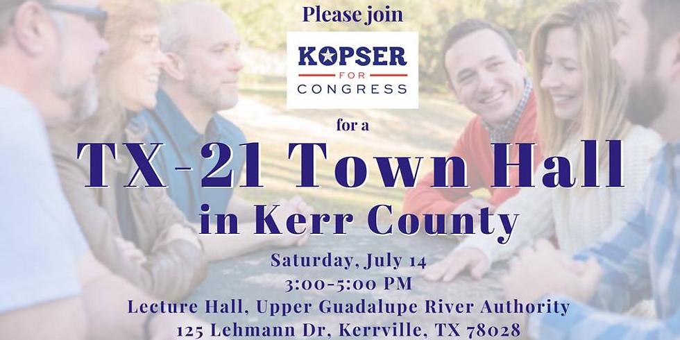 Kerr County Town Hall with Joseph Kopser