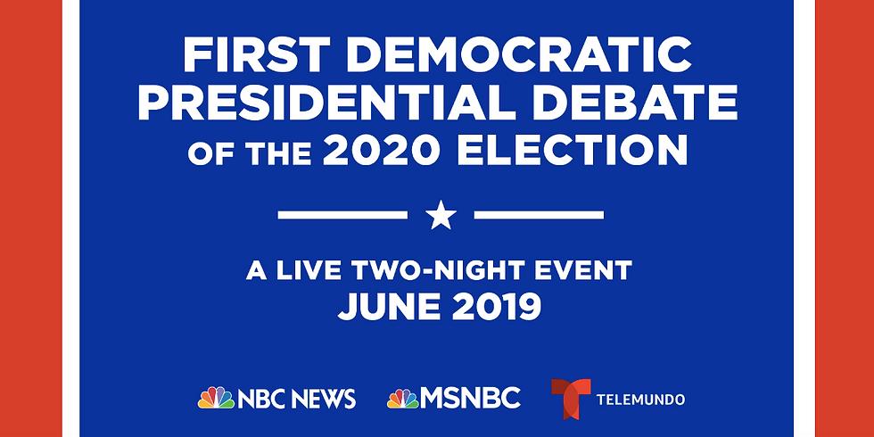 First Democratic Presidential Debate - 2020 Election