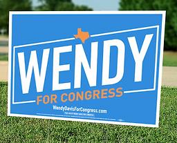 Wendy Davis Yard Sign.png