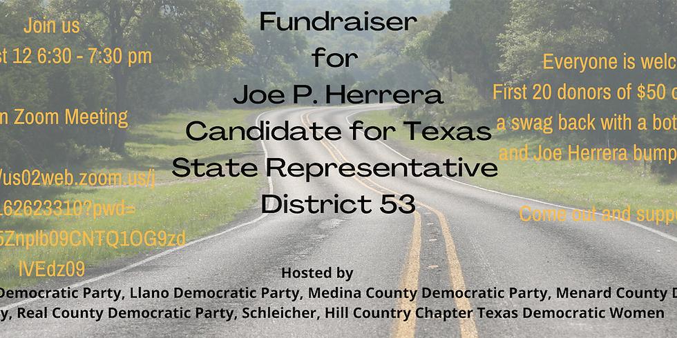 Meet Joe P. Herrera! Virtual Fundraiser