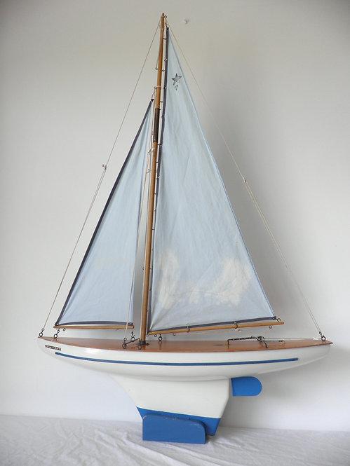 Western Star pond yacht