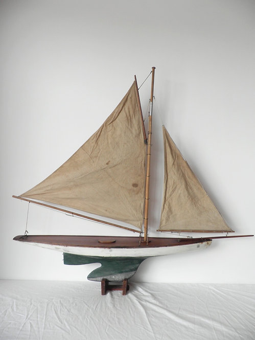 10 rater pond yacht antiques