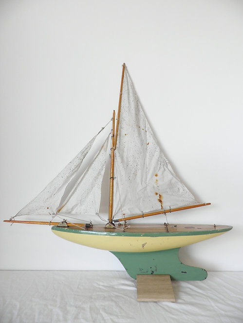 "Rare 1930's Star ""Solid Yacht"" all original -Sold"