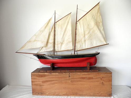 schooner pond yacht antiques