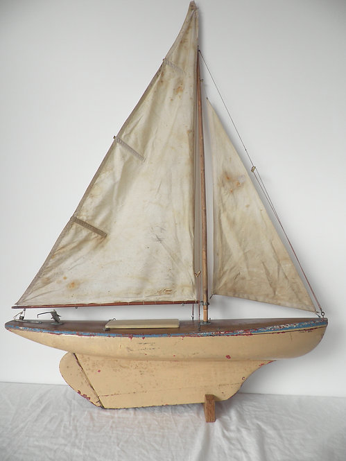 pond yacht to restore antiques