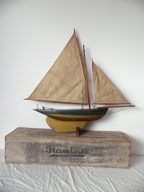 Hamleys pond yacht antiques