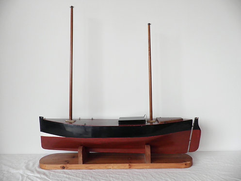 Fifie fishing boat pond yacht