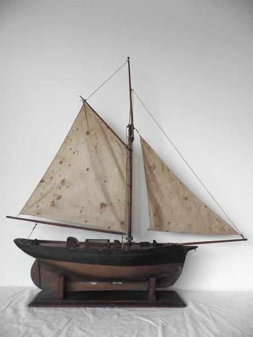 pond yacht antiques pilot cutter restore
