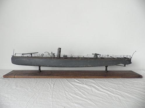 gunboat pond yacht antiques