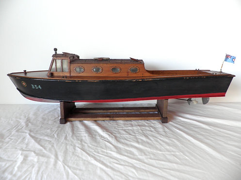 Adamcraft pond yacht antiques