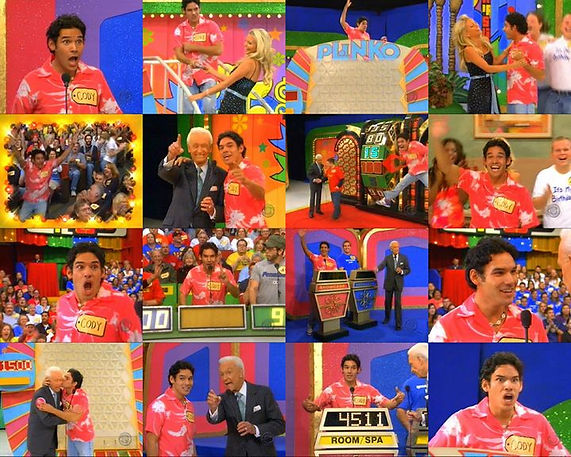 Cody Easterbrook on The Price is Right gameshow