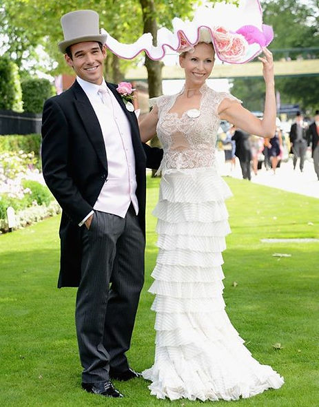 World Traveler Cody Easterbrook attends Royal Ascot in London England