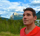 World Traveler Cody Easterbrook in Banff Canada