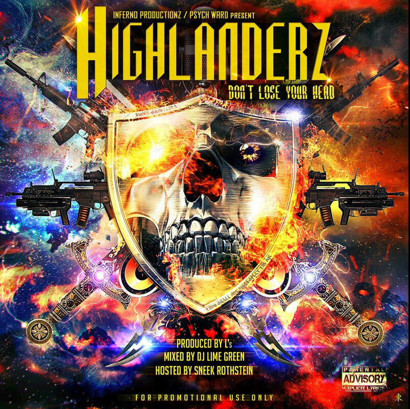 "Highlanderz ""Don't Lose Your Head"" cover"