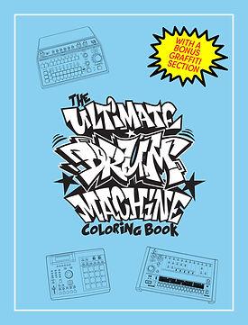 TheUltimateDrumMachineColoringBook (fron