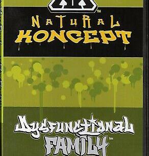 "Natural Koncept ""Dysfunctional Family"" DVD"