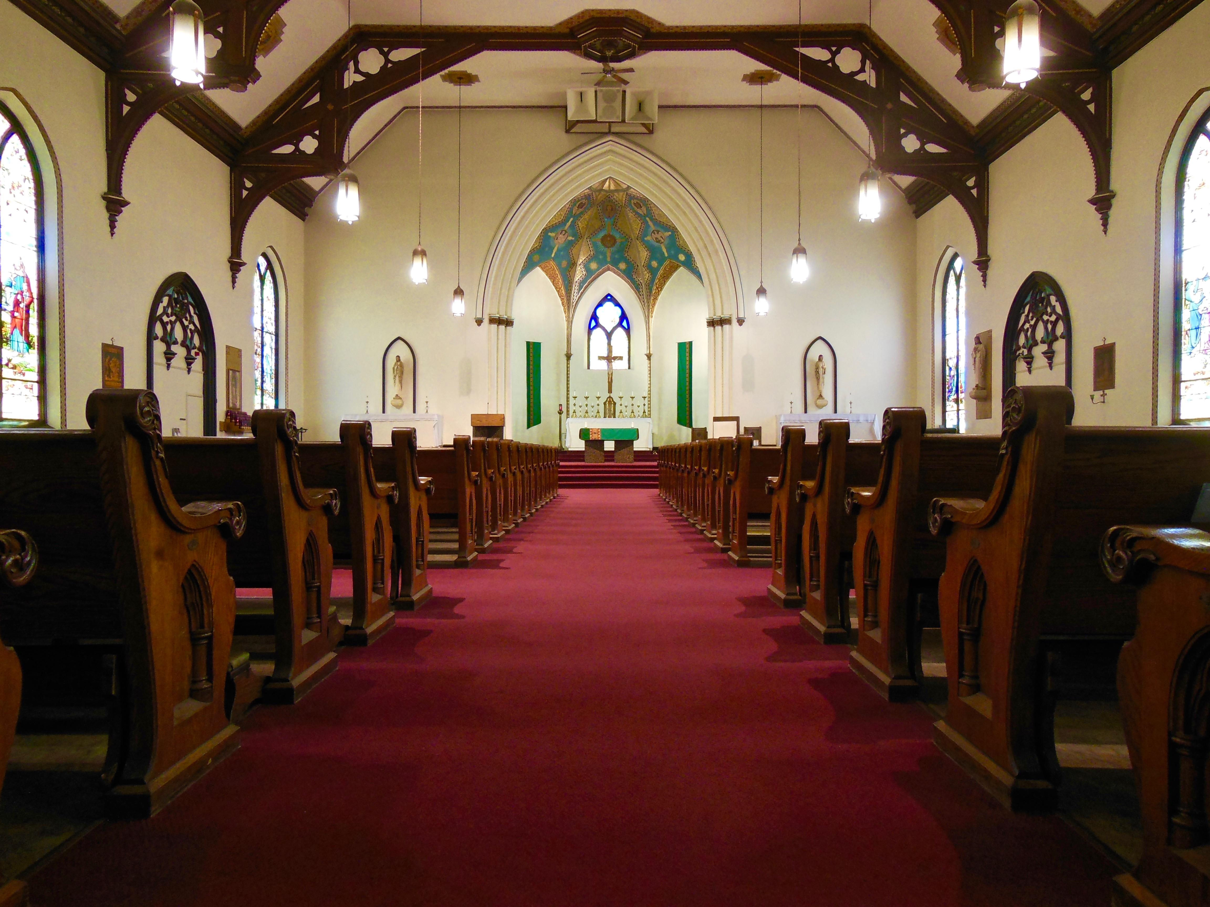 Interior from Main Doors