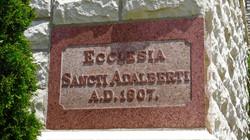 Ecclesia Sancti Adalberti A.D. 1907