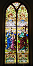 St. James Church, Grand Rapids, Michigan, stained glass, VFG Creations LLC