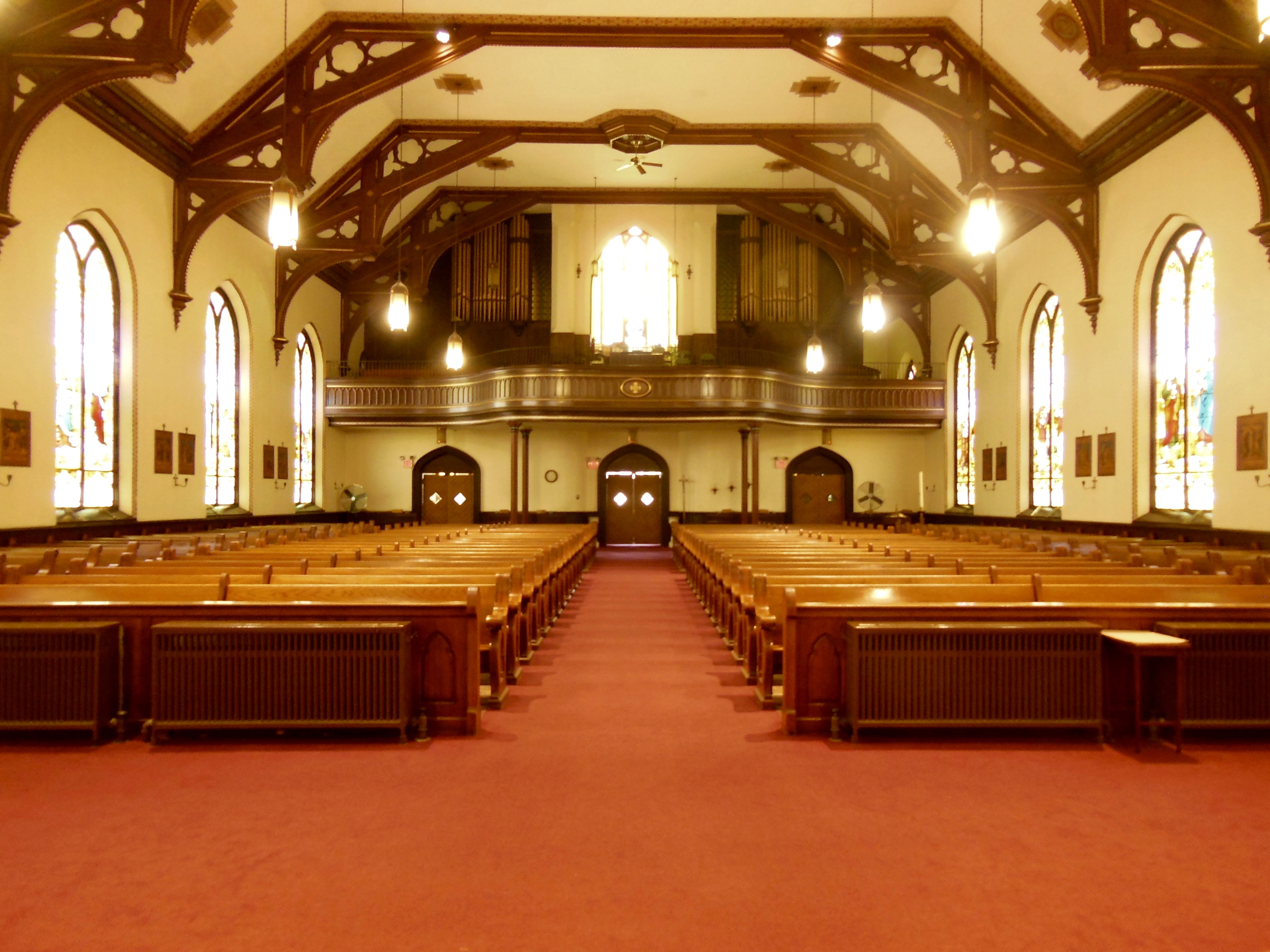 Interior from Sanctuary