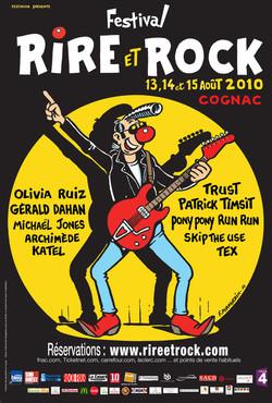 Festival Rire&Rock, Franck Margerin