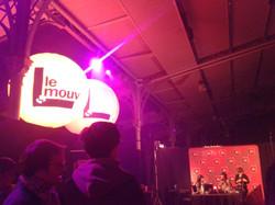 Pitchfork festival, studio Le mouv
