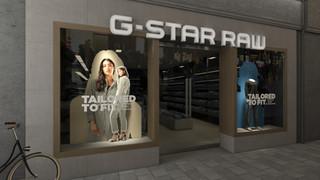 G-star Raw etalage
