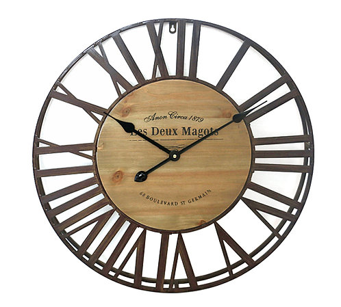 Ρολόι τοίχου rustic