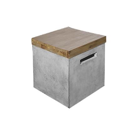 Σκαμπό Concrete C-WA
