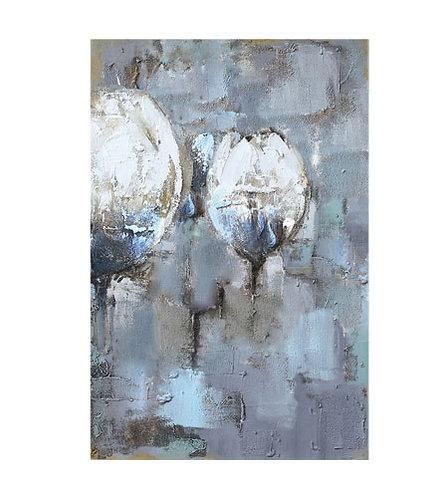 Διακοσμητικός Πίνακας 'Βαμβάκια' 120x80 Κωδ. 9552