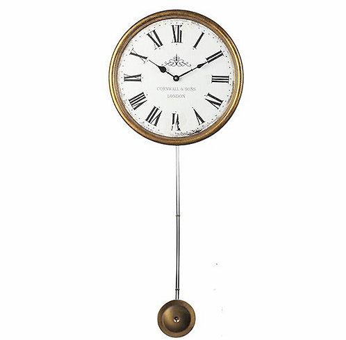 Ξύλινο ρολόι τοίχου