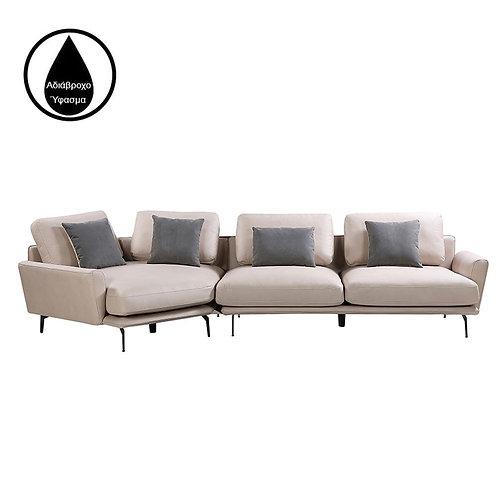 Καναπές γωνία Sixties 344x125
