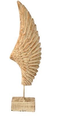 Πέτρινο διακοσμητικό φτερό (μεγάλο)